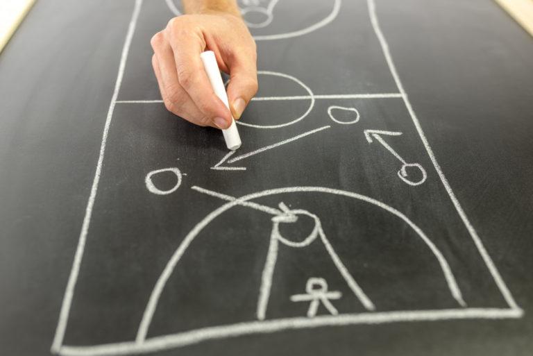 sports draw board